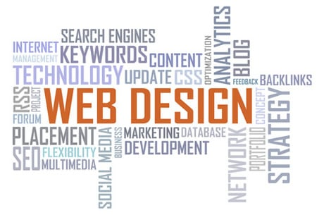 Industrial website design and redesign
