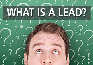 Defining leads in industrial lead generation