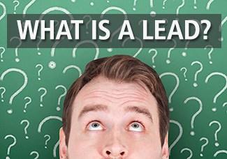 Defining leads in industrial lead generation