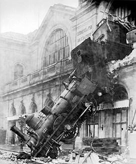 industrial website redesign and train derailment